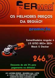 Esmerilhadeira Lixadeira 4.1/2 220v G720 820w Black&decker