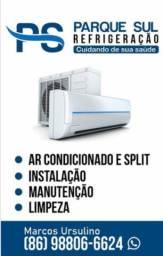 Instalação, manutenção e limpeza de split/ ar condicionado