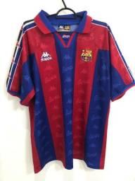 Camisa Barcelona Original Anos 90 Raro!