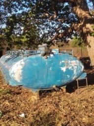 Tanque de água para caminhão
