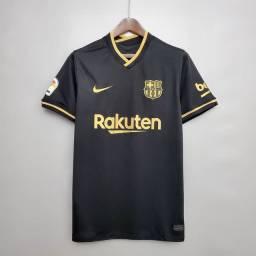 Barcelona preta tamanho GG e 2GG