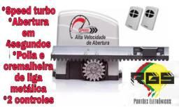Kit motor Speed Turbo 6 segundos + instalação