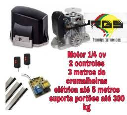 Kit motor Dz Garen deslizante + instalação