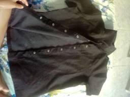 Jaqueta jeans veludo ( preta )