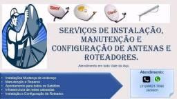 Instalações e manutenção em Rede e TV