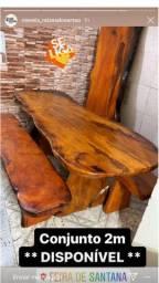 Conjuntos de madeira ( jaqueira )