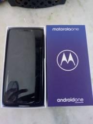 Moto one com 8 meses de uso (leia a descrição)