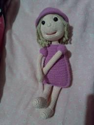 Bonecas de crochês infantis MARIASINHAS