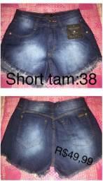 Shorts e bermuda novos