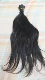 Mega hair liso, cabelo de verdade