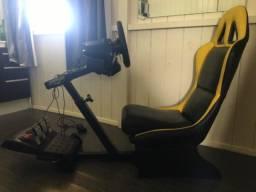 Simulador g27 com cockpit
