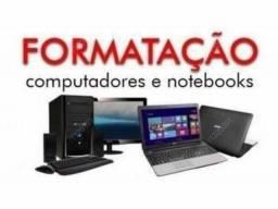 FORMATAÇÃO PC e NOTEBOOKS  à DOMICÍLIO