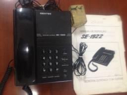 Vendo uma secretária eletrônica funcionando perfeitamente, com telefone e manual