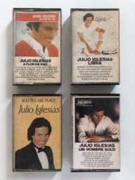 Julio Iglesias Set Com 4 Fitas K7