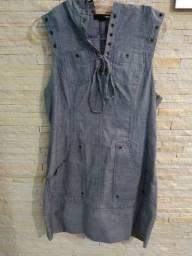 Vestido jeans Forever 21 tamanho M