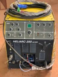 Máquina de Solda TIG Esab Heliarc 255 ac/dc