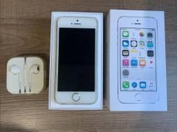 IPhone 5s 32 GB Branco + Fone Apple + Bateria Nova