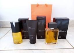 Kit Natura Essencial Masculino Perfume Desodorante e Pós Barba Completo A Pronta Entrega
