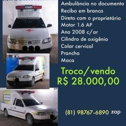 Ambulância regularizada