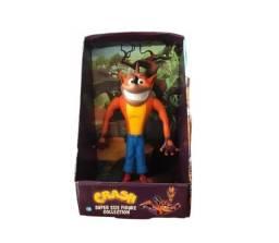 Título do anúncio: Crash Bandicoot Boneco Collection Grande 23cm Articulado - Loja Natan Abreu Serra