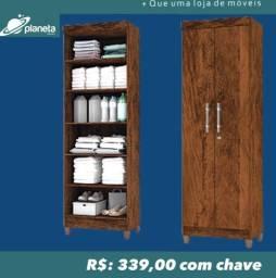 armário 2 portas c/ chave promoção