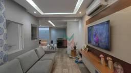 Sobrado com 3 dormitórios à venda, 94 m² por R$ 430.000,00 - Estuário - Santos/SP