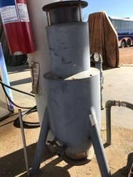 Filtro foguetinho para posto de combustível