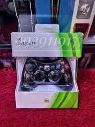 Controle Xbox 360 e Pc  com fio.