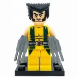 (WhatsApp) blocos de montar - super heroes - wolverine