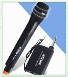 Microfone Sem Fio Boa Qualidade, Igrejas, Cantos, Eventos em Geral. NOVO