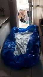 Picina inflável grande 2000lt