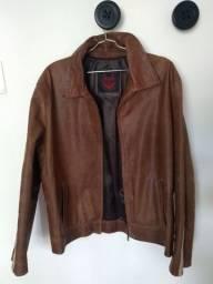 Jaqueta de couro legítimo argentina