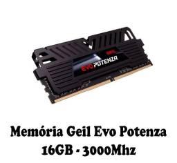 Memória Geil Evo Potenza, 16GB, 3000Mhz, DDR4