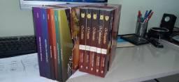 2 box de livros mesngens de esperança e conflito