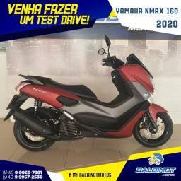 Título do anúncio: Yamaha NMax 160 2020 Vermelha