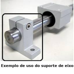 Suporte para eixo guia linear 20mm Sk20 Cnc Router impressora 3d