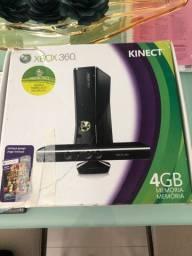 OPORTUNIDADE !!!Xbox 360 Kinect com jogos