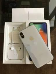 iPhone X 64Gg zero completo garantia de 3 meses
