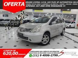 Nissan Grand Livina 1.8 SL 16v Flex 4p Automática Top de Linha 7 Lugares Baixa KM