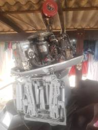 Motor *evinrude*  135 Hp aceito proposta