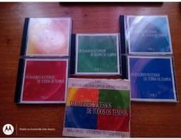 BOX 5 CDS GRANDES CANTORES INTERNACIONAIS