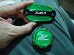 Tampas de freio z400 e ninja400 80reais
