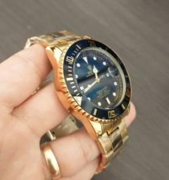 Rolex Luxo Aço inox