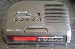 Rádio relógio Sony