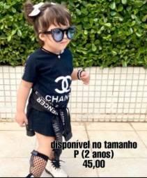 Vestido infantil Mini influencer