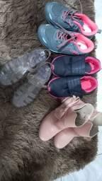 Calçados usados infantil