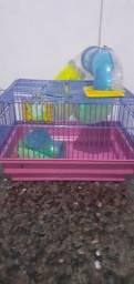 Gaiola de  hamster labirinto