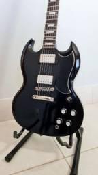 Guitarra Epiphone SG G400 com captadores Probucker