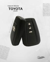 Capa de Silicone Chave Presença Toyota Corolla 2020