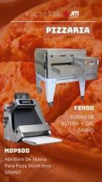 Título do anúncio: Ricardo forno esteira grano e modeladora de pizza grano